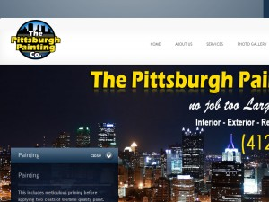 THE PITTSBURGH PAINTING CO In PITTSBURGH PA House Painters - The pittsburgh painting co